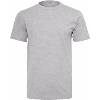 Abbigliamento Uomo T-shirt maniche corte Build Your Brand Round Neck Erica grigia
