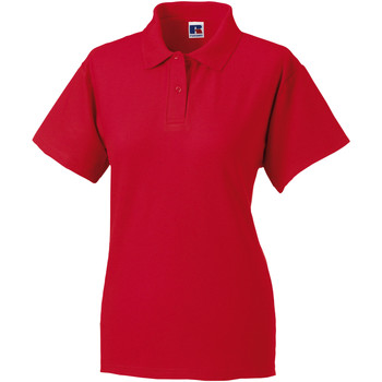 Abbigliamento Donna Polo maniche corte Jerzees Colours 539F Rosso