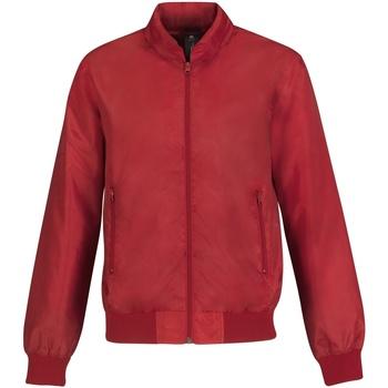Abbigliamento Uomo Giubbotti B And C Trooper Rosso/Grigio