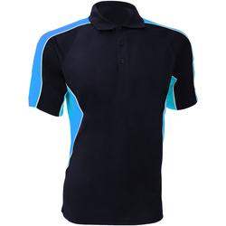Abbigliamento Uomo Polo maniche corte Gamegear KK938 Blu navy/Azzurro