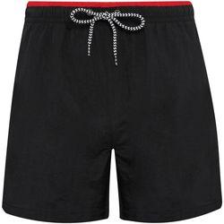 Abbigliamento Uomo Costume / Bermuda da spiaggia Asquith & Fox AQ053 Nero/Rosso