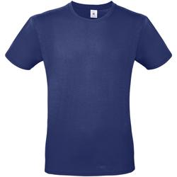 Abbigliamento Uomo T-shirt maniche corte B And C TU01T Blu elettrico