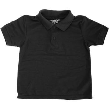 Abbigliamento Unisex bambino Polo maniche corte Gildan 72800B Nero