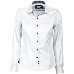 Abbigliamento Donna Camicie J Harvest & Frost JF006 Bianco/Navy