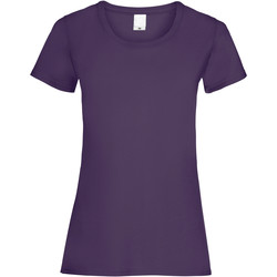 Abbigliamento Donna T-shirt maniche corte Universal Textiles 61372 Uva