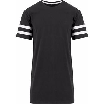 Abbigliamento Uomo T-shirt maniche corte Build Your Brand BY032 Nero/Bianco
