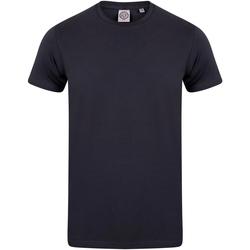 Abbigliamento Unisex bambino T-shirt maniche corte Skinni Fit SM121 Blu navy