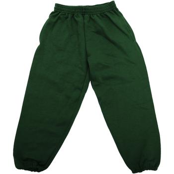 Abbigliamento Unisex bambino Pantaloni da tuta Jerzees Schoolgear 750B Verde bottiglia