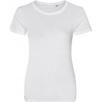 Abbigliamento Donna T-shirt maniche corte Ecologie EA01F Bianco