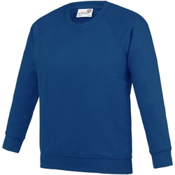 Abbigliamento Unisex bambino Felpe Awdis AC01J Blu Reale Scuro