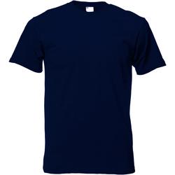 Abbigliamento Uomo T-shirt maniche corte Universal Textiles 61082 Blu notte