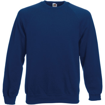 Abbigliamento Unisex bambino Felpe Fruit Of The Loom 62033 Blu navy