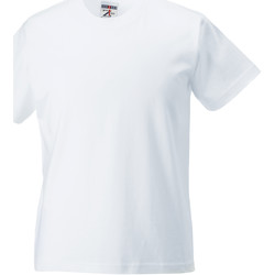 Abbigliamento Unisex bambino T-shirt maniche corte Jerzees Schoolgear ZT180B Bianco