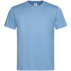 Abbigliamento Uomo T-shirt maniche corte Stedman  Azzurro