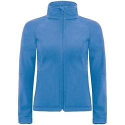 Abbigliamento Donna giacca a vento B And C JW937 Azzurro