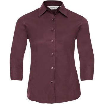 Abbigliamento Donna Camicie Russell 946F Rosso scuro