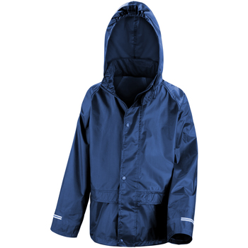 Abbigliamento Unisex bambino giacca a vento Result R227J Blu navy