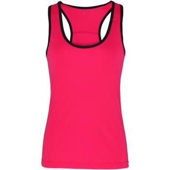 Abbigliamento Donna Top / T-shirt senza maniche Tridri TR023 Rosa/Nero