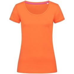 Abbigliamento Donna T-shirt maniche corte Stedman Stars  Zucca