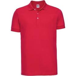 Abbigliamento Uomo Polo maniche corte Russell 566M Rosso