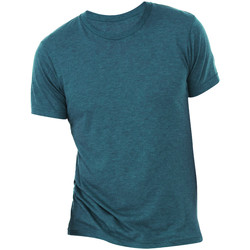 Abbigliamento Uomo T-shirt maniche corte Bella + Canvas CA3413 Blu Acciaio