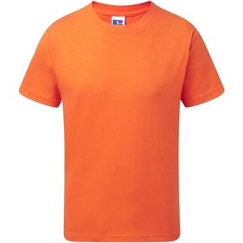 Abbigliamento Unisex bambino T-shirt maniche corte Jerzees Schoolgear J155B Arancio