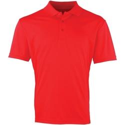 Abbigliamento Uomo Polo maniche corte Premier PR615 Rosso fragola