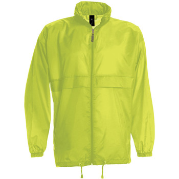 Abbigliamento Uomo giacca a vento B And C JU800 Giallo
