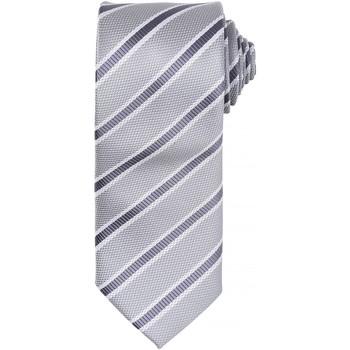 Abbigliamento Uomo Cravatte e accessori Premier PR783 Argento/Grigio scuro