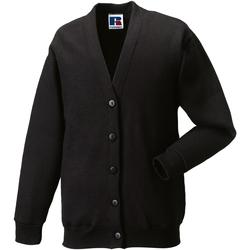 Abbigliamento Unisex bambino Gilet / Cardigan Jerzees Schoolgear 273B Nero