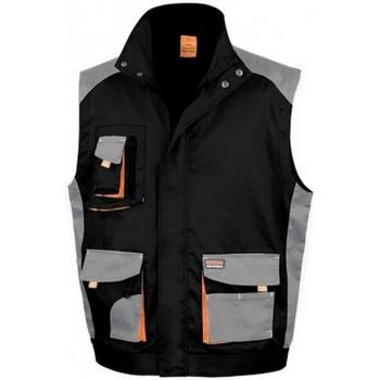 Abbigliamento Uomo Gilet / Cardigan Result RS317 Nero/Grigio