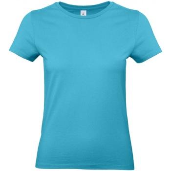 Abbigliamento Donna T-shirt maniche corte B And C E190 Azzurro acqua