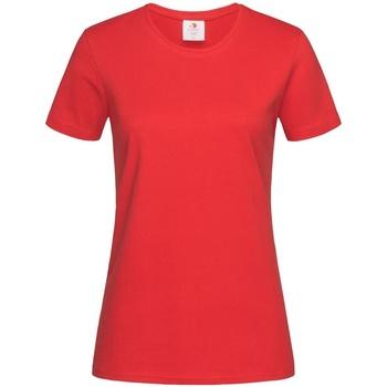 Abbigliamento Donna T-shirt maniche corte Stedman Comfort Rosso