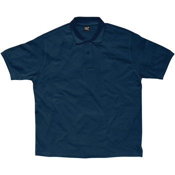 Abbigliamento Bambino Polo maniche corte Sg SG59K Blu navy