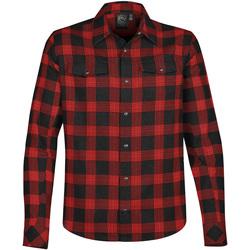 Abbigliamento Uomo Camicie maniche lunghe Stormtech Logan Plaid nero / rosso