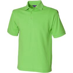 Abbigliamento Uomo Polo maniche corte Henbury HB400 Verde lime