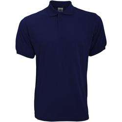 Abbigliamento Uomo Polo maniche corte B And C PU409 Blu navy