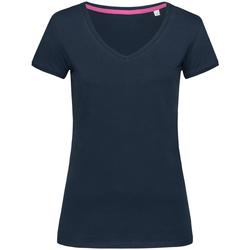 Abbigliamento Donna T-shirt maniche corte Stedman Stars Megan Blu scuro
