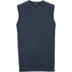 Abbigliamento Uomo Gilet / Cardigan Russell 716M Blu navy