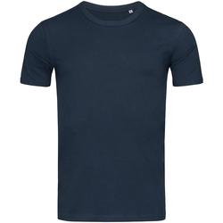 Abbigliamento Uomo T-shirt maniche corte Stedman Stars Morgan Blu scuro