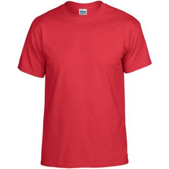 Abbigliamento T-shirt maniche corte Gildan DryBlend Rosso