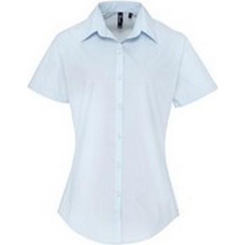 Abbigliamento Donna Camicie Premier PR309 Azzurro