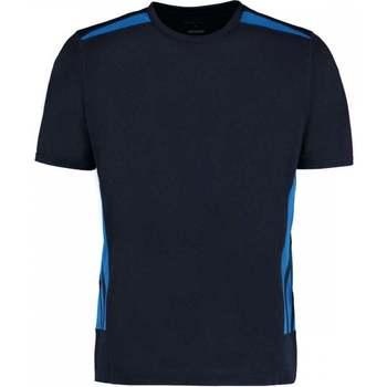 Abbigliamento Uomo T-shirt maniche corte Gamegear KK930 Blu navy/Blu elettrico