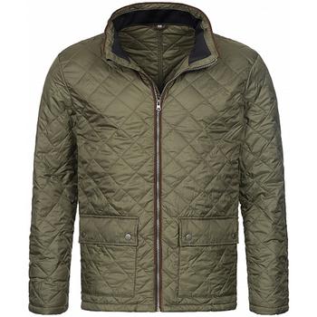 Abbigliamento Uomo Giubbotti Stedman  Verde militare
