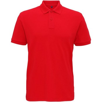 Abbigliamento Uomo Polo maniche corte Asquith & Fox AQ005 Rosso