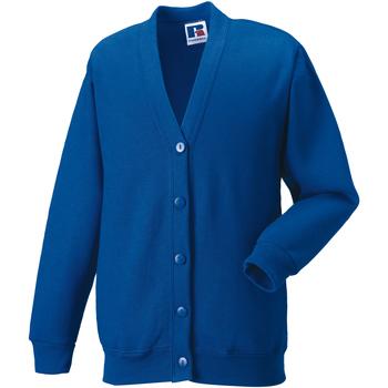 Abbigliamento Unisex bambino Gilet / Cardigan Jerzees Schoolgear 273B Blu reale acceso