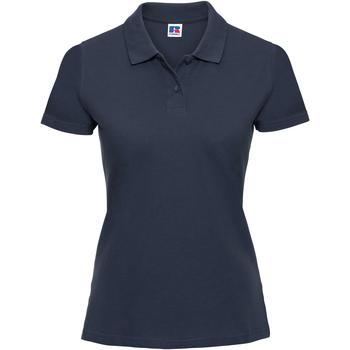 Abbigliamento Donna Polo maniche corte Russell 569F Blu navy
