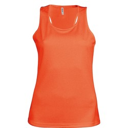 Abbigliamento Donna Top / T-shirt senza maniche Kariban Proact Proact Arancio fluorescente