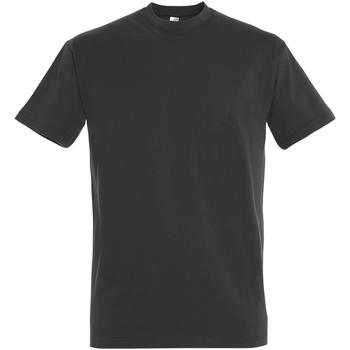Abbigliamento Uomo T-shirt maniche corte Sols 11500 Grigio Scuro