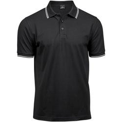 Abbigliamento Uomo Polo maniche corte Tee Jays TJ1407 Nero/Bianco